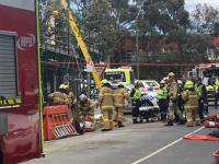 More than 60 Melbourne cranes stop work after WorkSafe investigates Box Hill death