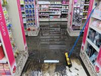 Some shop owners in Kingston's Channel Court are reeling from the flood damage.