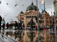 Melbourne homes flooded
